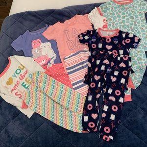Bundle Baby Girl Pajamas
